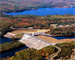 Franklin Falls Dam was built and constructed in 1943 on the Pemigewasset River to protect cities and towns along the Merrimack from flood damage. Since it's conception in 1943, the dam has prevented over $165 million in damages. Also, by using flood control land, we are able to create and manage recreational opportunities for every age. Many people enjoy hunting, fishing, hiking, biking, kayaking and snowshoeing. (U.S. Army Corps of Engineers photo)