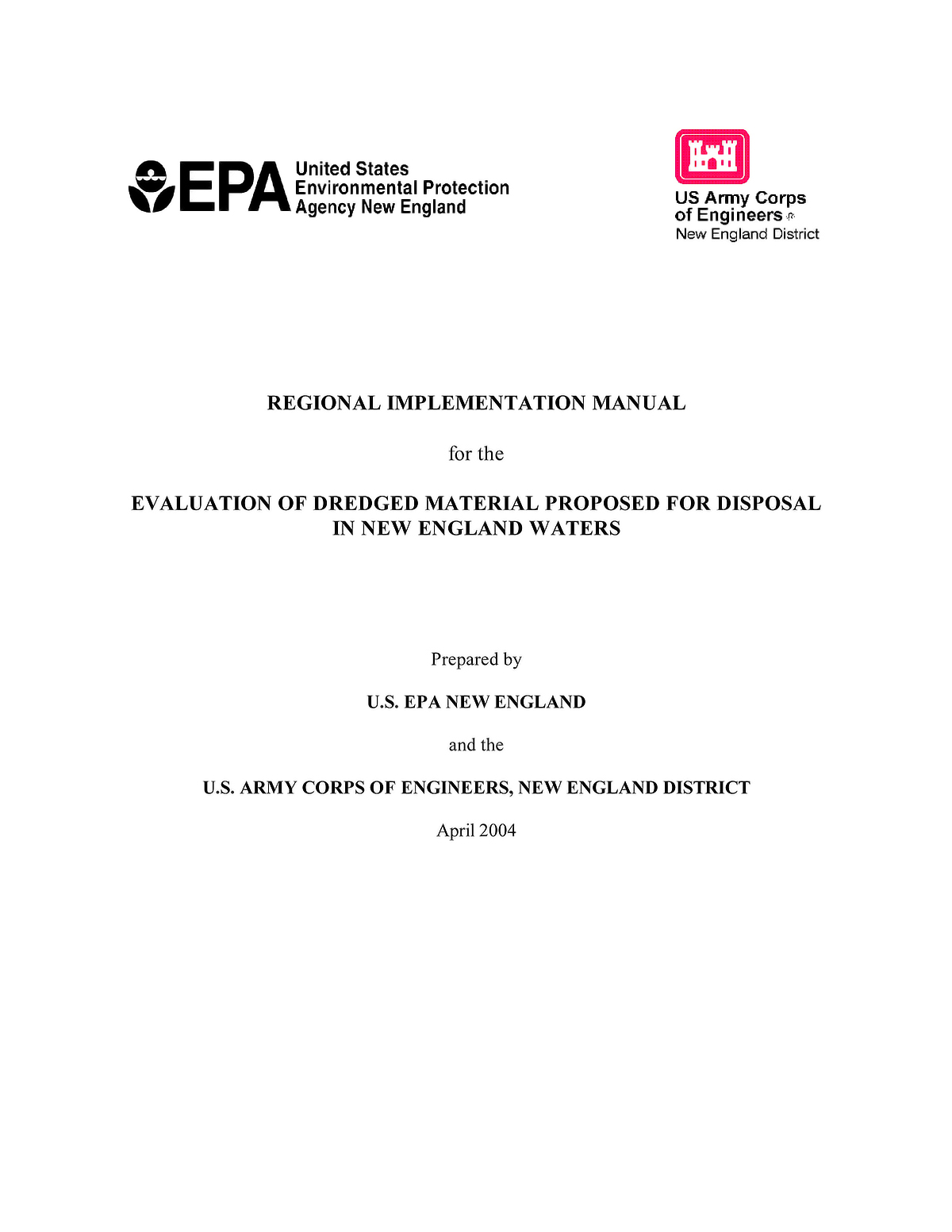 Regional Implementation Manual