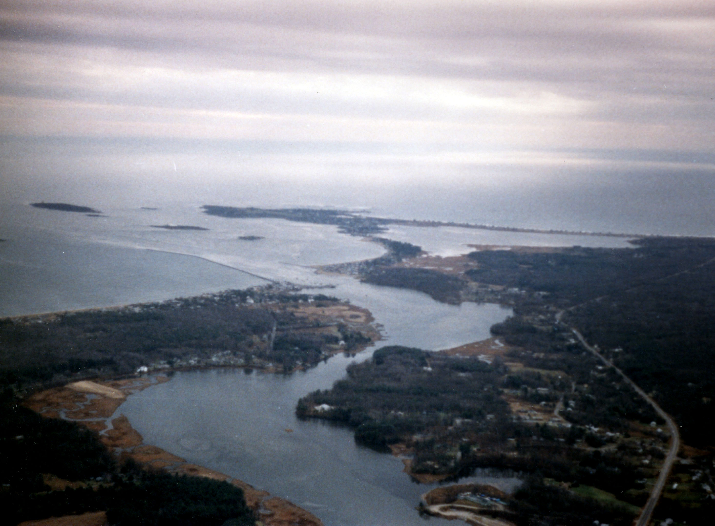 Wood Island Harbor and Biddeford Pool