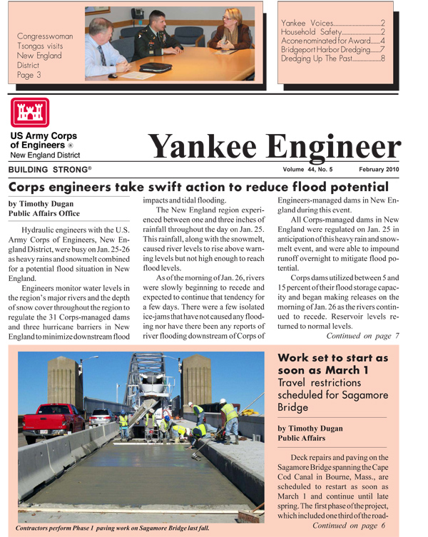 February 2010 edition of the Yankee Engineer