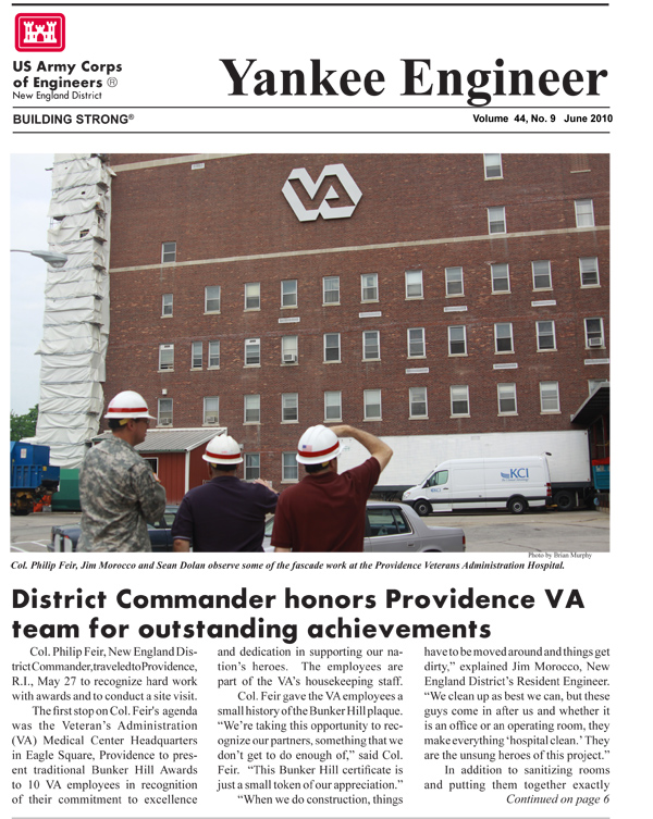 June 2010 edition of the Yankee Engineer