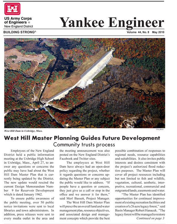 May 2010 edition of the Yankee Engineer