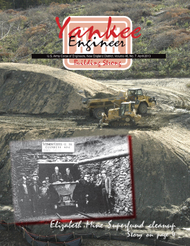 April 2013 issue of the Yankee Engineer magazine