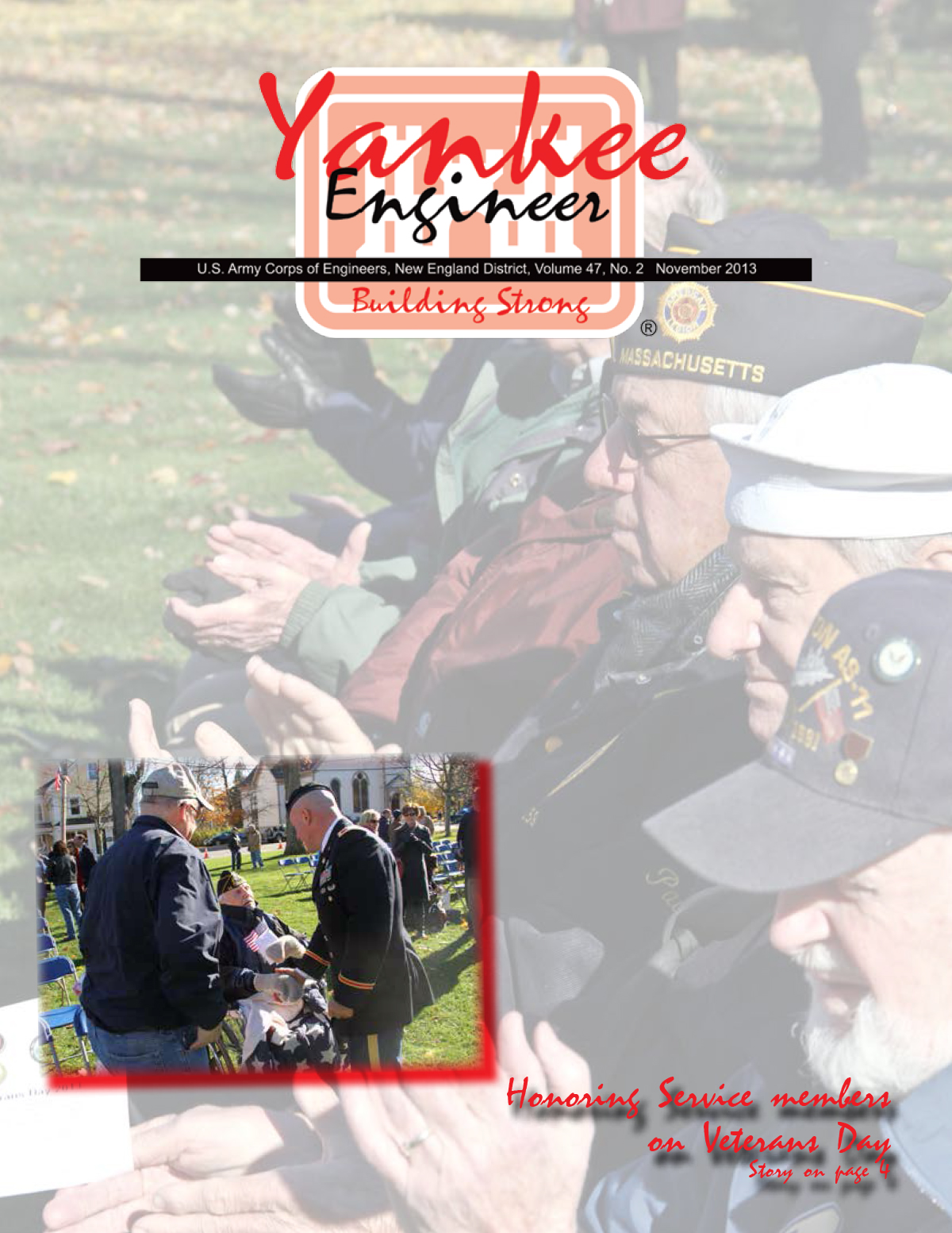 November 2013 issue of the Yankee Engineer magazine