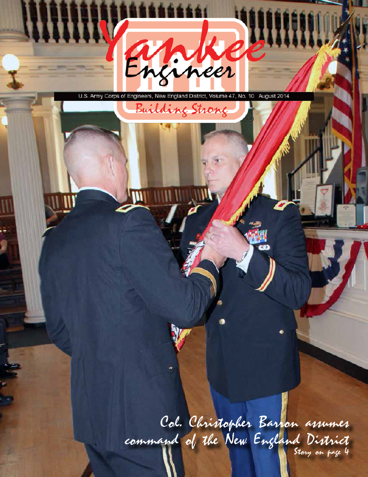 August 2014 issue of the Yankee Engineer magazine