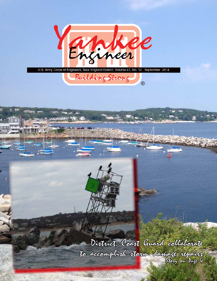 September 2014 issue of the Yankee Engineer magazine